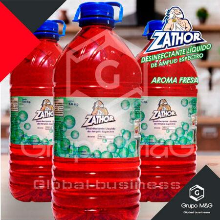 Desinfectante amplio espectro varios aromas Zathor Galón