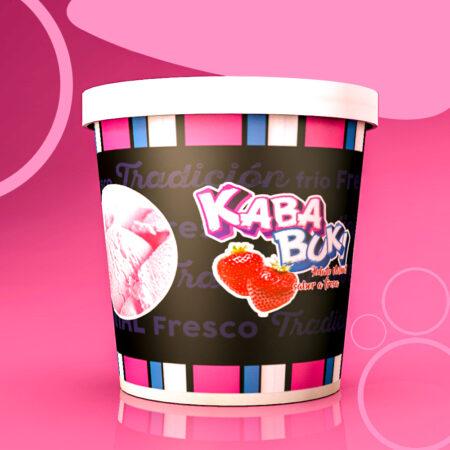 Kababuki Helado Frutilla 1 Litro