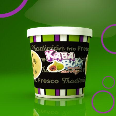 Kababuki helado Higo 1 litro