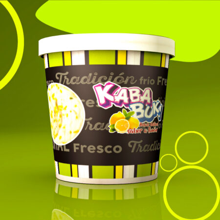 Kababuki Helado Limón 1 Litro