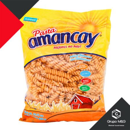 Fideo Amancay Tornillo 400 Gr